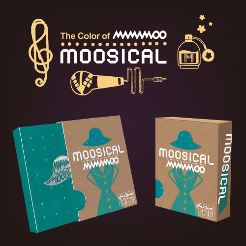 [MAMAMOO] 2016 MOOSICAL: Photo Book + Live CD