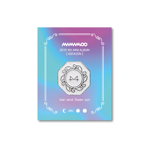 [MAMAMOO] WHITE WIND BADGE